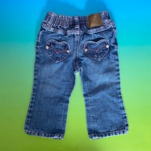 Levi's Baby Girl (18M) Heart Jeans